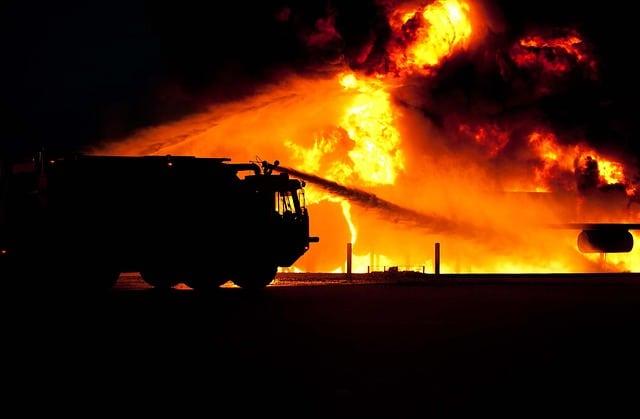 שריפה בכרמלית